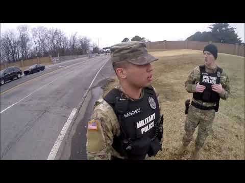 Confiscated Footage of  Fort Campbell incident pt1