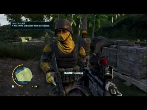"Far Cry 3 - Privateer ""Stealth"" Gameplay HD 1080p (Triple Decker Walktrough)"