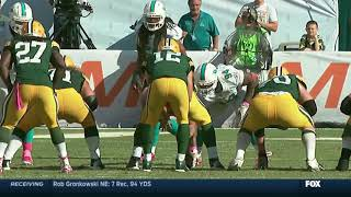 Packers vs. Dolphins Game-Winning Drive (2014 Week 6)