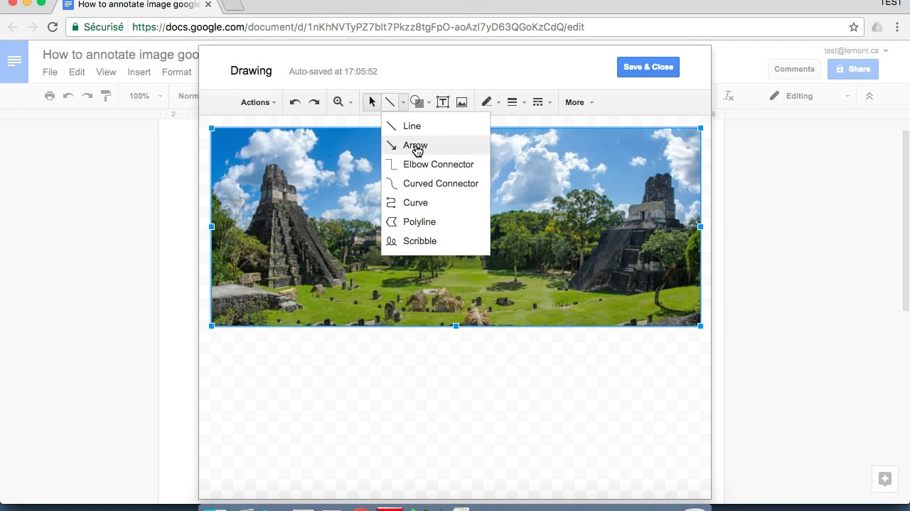 How To Annotate Image Google Docs