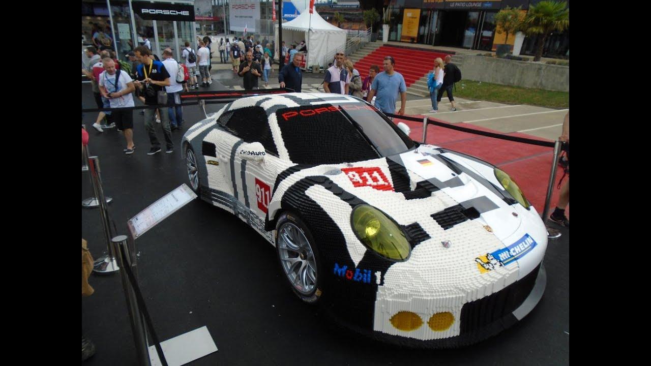 Life Size Car Porsche 911 in Lego - YouTube