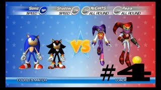 SEGA Superstars Tennis | Part 4 | SHADOW VS. THE ZOMBIES
