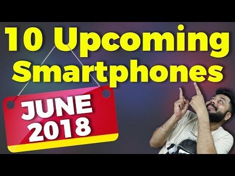 TOP 10 UPCOMING MOBILE PHONES JUNE 2018  Redmi Y2, Moto G6, MI 8, iPhone SE 2 & More