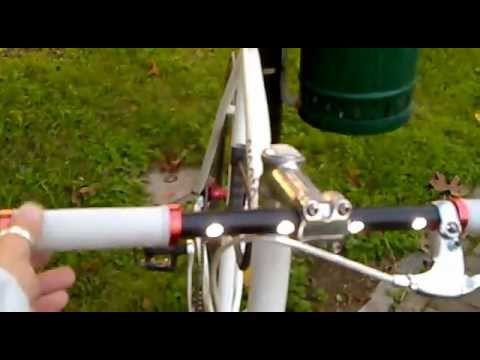 Tuning bici scatto fisso luci led led lights fixed gear bike