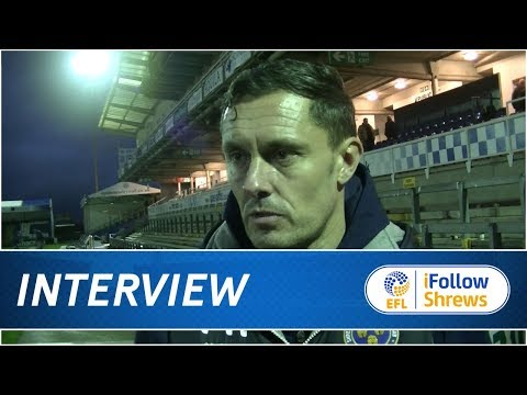 INTERVIEW | Paul Hurst post Bristol Rovers - Town TV