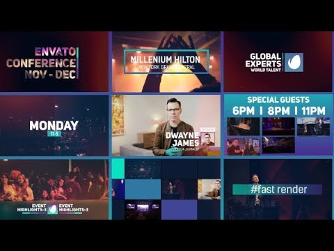 event promo after effects template free