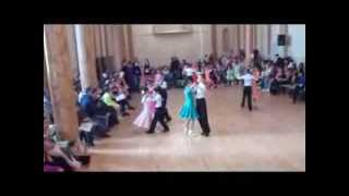 City of Dublin dance competition 2013, Juvenile Ballroom Dance Final