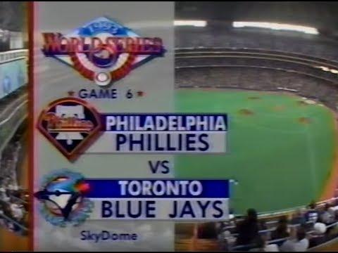 1993 World Series Game 6  Phillies vs Blue Jays