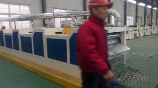WASTE COTTON YARN RECYCLING MACHINE