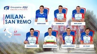 Milan-San Remo 2018 : la bande-annonce de l'Équipe Cycliste Groupama-FDJ
