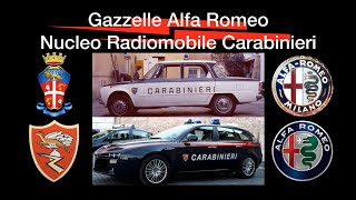 Gazzelle Alfa Romeo Carabinieri