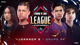 Jornada 2 | Grupo A - #FreeFireLeague | Apertura 2021