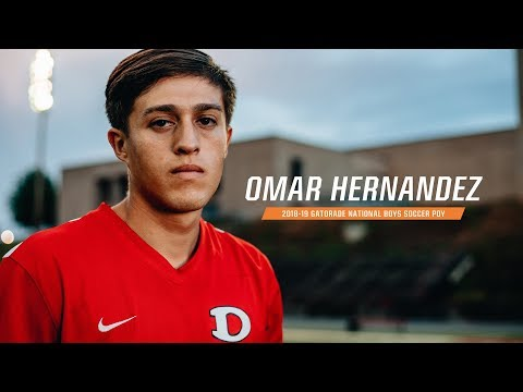 Omar Hernandez: 2018-19 Gatorade National Boys Soccer Player Of The Year