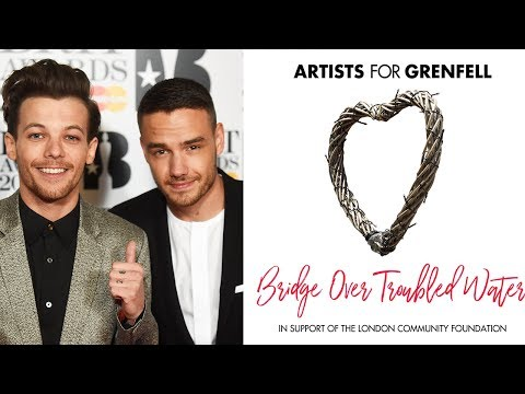 One Direction's Liam Payne & Louis Tomlinson REUNITE For Grenfell Tower Charity Single