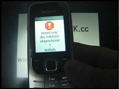 HOW UNLOCK NOKIA 2330 CLASSIC www.SIM-UNLOCK.me BY HARDWARE HANDY ENTSPERREN