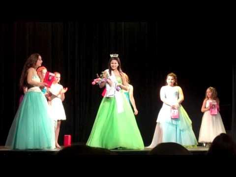 Miss Greater WaterburyBrass City Outstanding PreTeen crowning