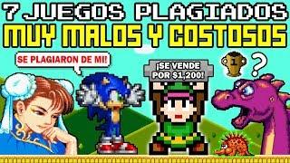 Top 7 Videojuegos Plagiados MALÍSIMOS que Cuestan Mucho Dinero