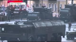 Военный парад в Санкт-Петербурге 9 мая 2014
