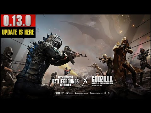 PUBG Mobile 0.13.0 Update Is Here | New Deathmatch Mode, Godzilla Theme & More!