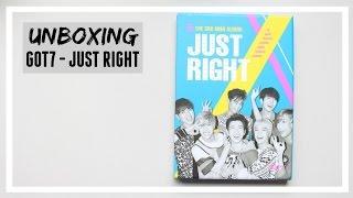 UNBOXING: GOT7 - JUST RIGHT ALBUM // MLSS