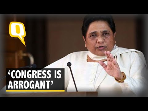 Cong 'Arrogant', BSP to Go Solo in Rajasthan & MP, Says Mayawati