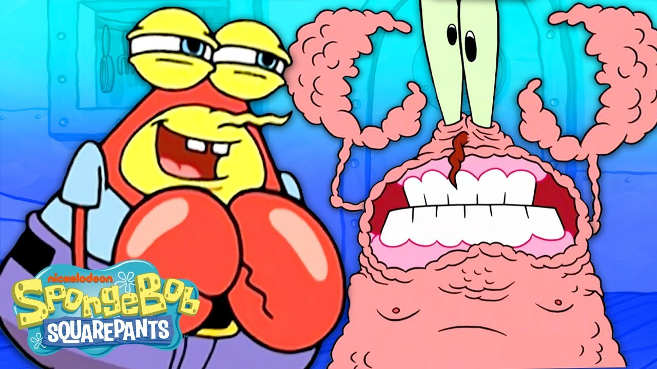 Download Every Time Mr. Krabs Had NO Shell! 😳🦀 | SpongeBob SquarePants