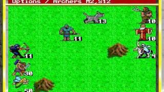 Kings Bounty (1990) gameplay