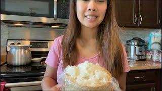 Ep368🍎ทำ Breakfast Thai style to my Americans husband | ทำอาหารเช้าไทยๆให้สามีฝรั่ง จะทานได้มั้ย??