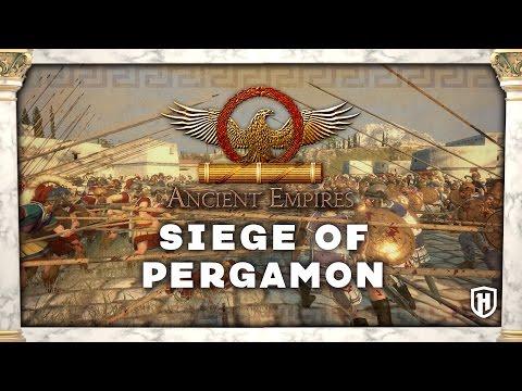 SEIGE OF PERGAMON! Ancient Empires Mod Gameplay