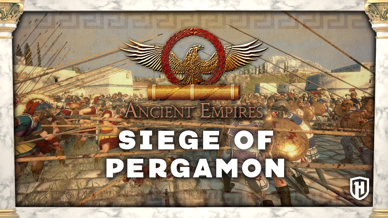 seige of pergamon ancient empires mod gameplay youtube