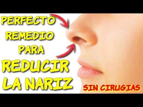 perfecto remedio para reducir la nariz sin cirugias