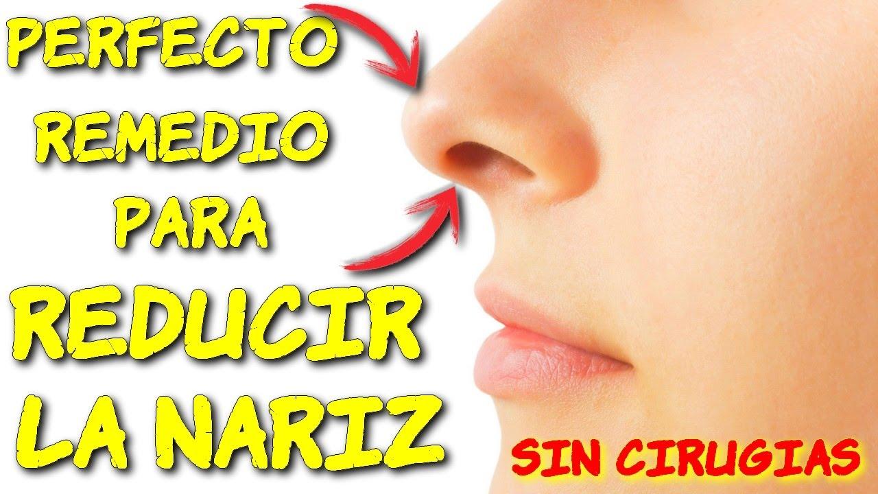 Como afinar la nariz sin operacion