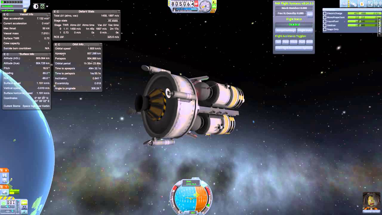 [KSP] Tutorial - How to set up a Communication Satellite Network for  RemoteTech 2