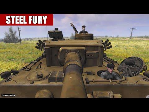 "Steel Fury Kharkov 1942 The N Power Campaign ""Karachev"" Mission 10 Pz.VI Tiger Tank"