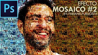 Efecto Mosaico #2 | Photoshop | TUTORIAL #75 | Español