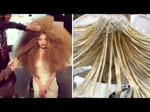 new-hair-color-transformation---amazing-hairstyles-tutorial!