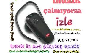 Bluetooth kulaklık müzik dinleme iphone