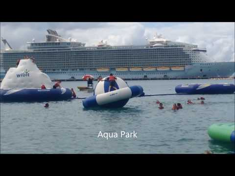 Oasis of the Seas January 2018 Caribbean Cruise Sparks Family