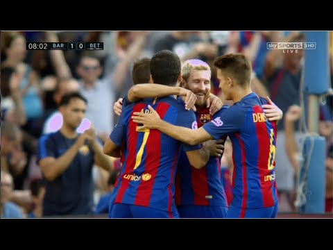 Arda Turan vs Real Betis (Home) (20/08/2016) 720p HD by EC17