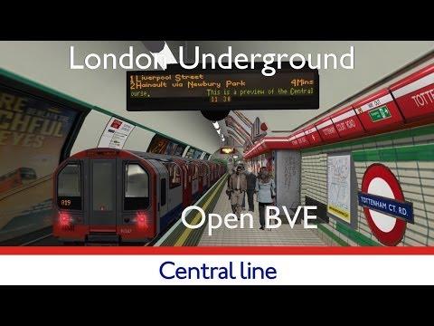 London Underground Simulator OpenBVE Central Line