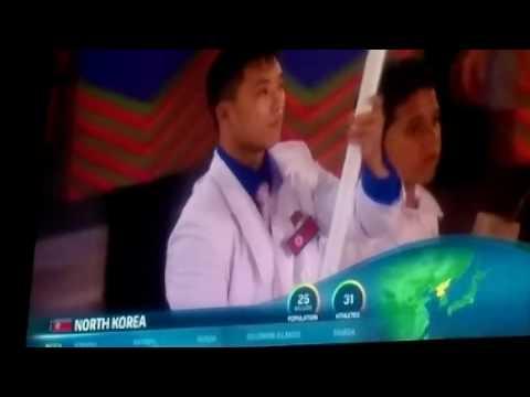 North korea at  the 2016 rio olympics