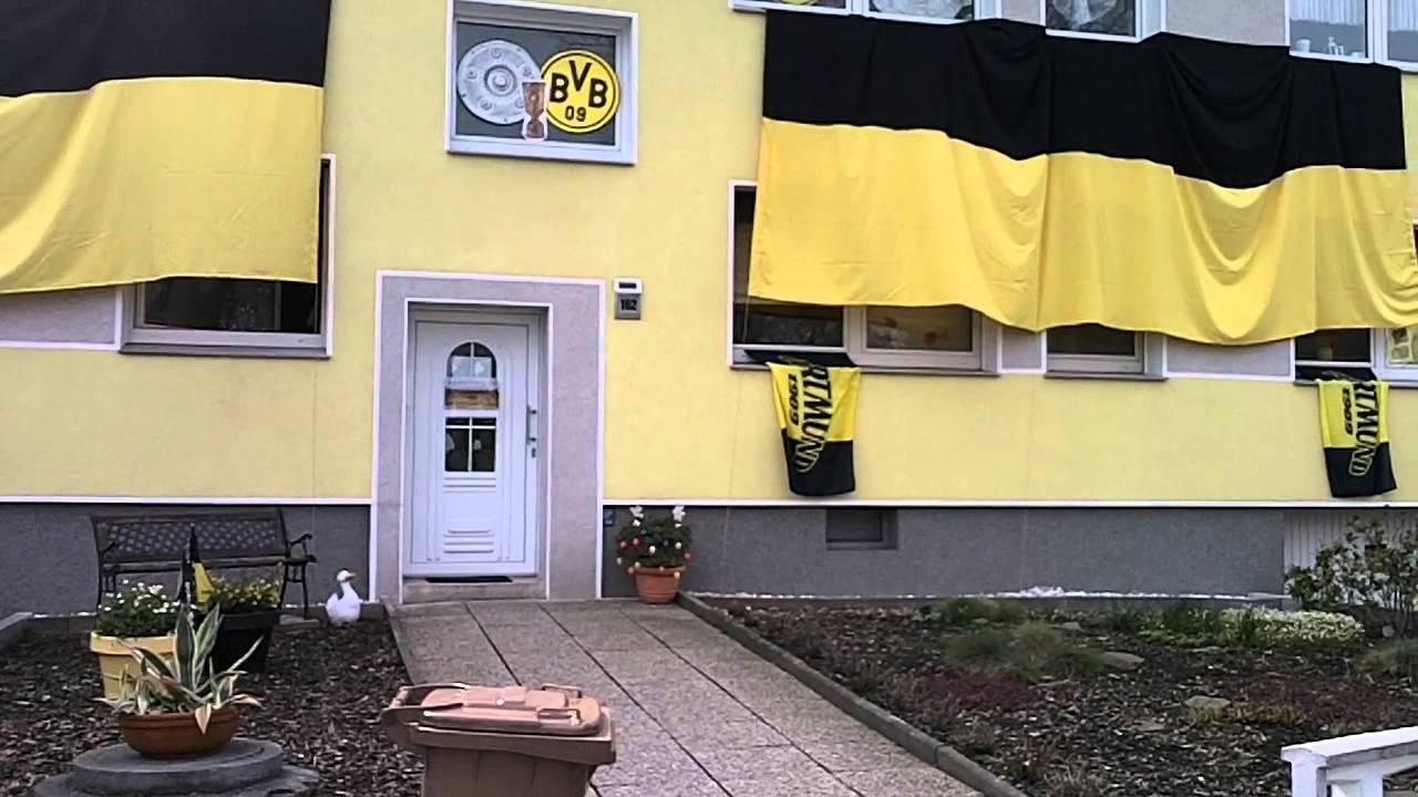 BVB-Meisterfeier 2012 - Beste Haus-Deko - YouTube
