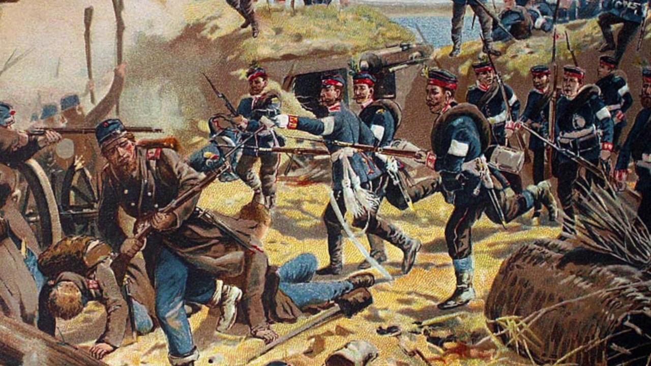 Krigen i 1864 - kort fortalt -...