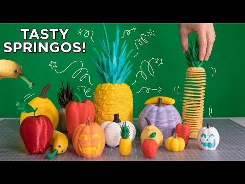 Tasty 3D Printed Springos // 2018 Springo Collection