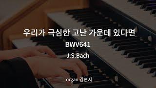 [음악묵상] 우리가 극심한 고난 가운데 있다면(BWV641) | J.S.Bach