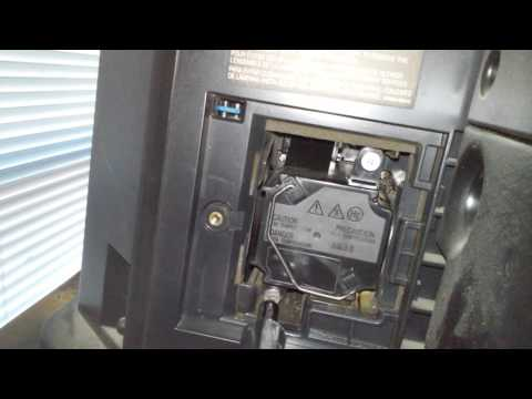 Replacing JVC Rear Projection TV Lamp