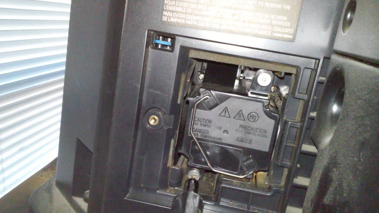 replacing jvc rear projection tv lamp youtube rh youtube com JVC Audio JVC AVCHD Everio