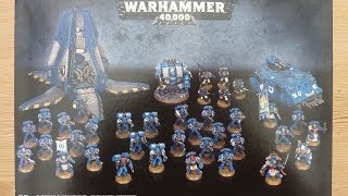 Space Marine Strikeforce unboxing and review (WH40K)