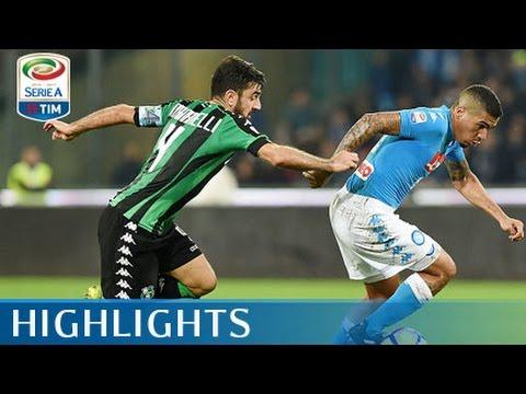 Napoli - Sassuolo - 1-1 - Highlights - Giornata 14 - Serie A TIM 2016/17