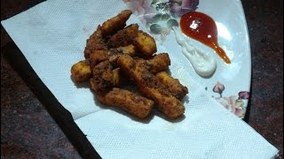 Paneer Fingers / Paneer Fries Recipe | Quick & Easy Evening Snack | Paneer Recipes by- Aman Bhatia.